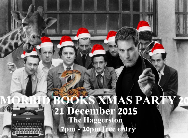 Morbid Xmas party invite flyer